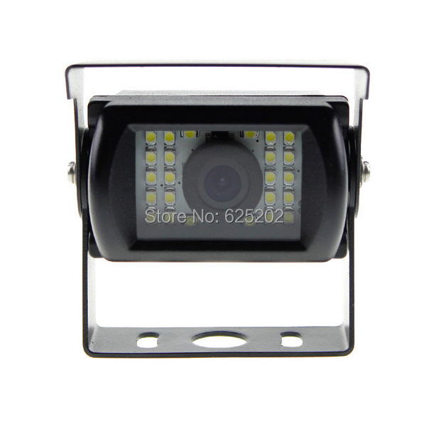 High Definition Wide Viewing Angle 24 SMD LED Car Review Camera Night Color