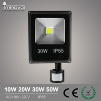 IMINOVO LED 110V 220V Flood Light 10W 20W 30W 50W Wall Lamp Spotlights Outdoor Lighting Waterproof