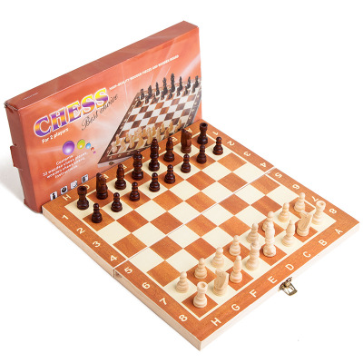 Chess Game Classic Wooden 30 x 30 cm high quality 2019, Game Table, Magnetic Folding Board, packing Wood Chess