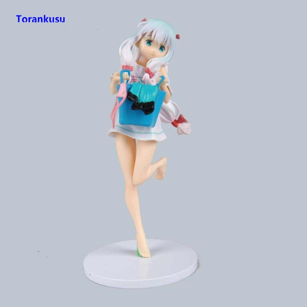 Eromanga Sensei Izumi Sagiri Figure Figuras Anime Figure Girl Gift Toys For Children Kawaii Figurine PVC Model Figma Doll XP figurine