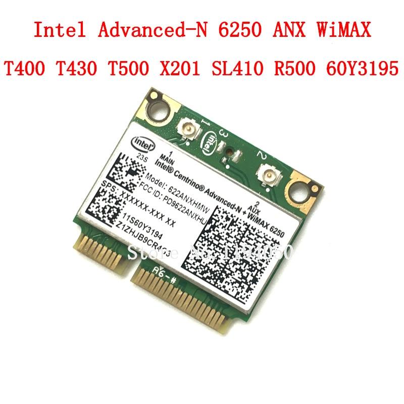 Intel Dual Band 6250 6250anx  300Mbps Wifi//wimax Link  Wireless N Wifi Card