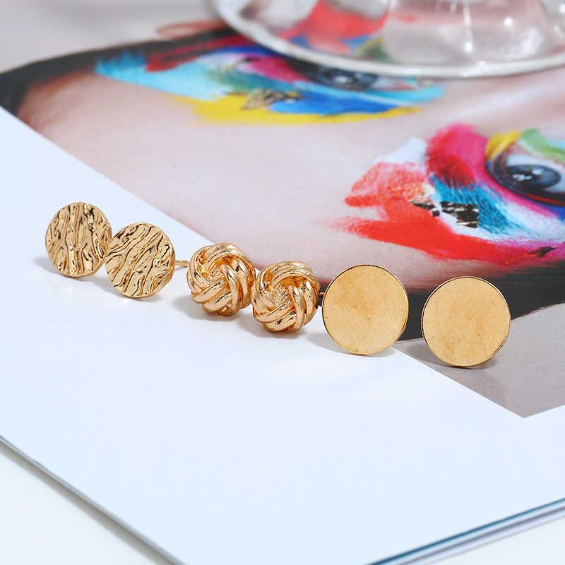 XIYANIKE Neue Ankunft Edle Gold Blätter Imitation Perle Lange Quaste Drop Ohrringe Set Mode Runde Für Frauen Schmuck Geschenk