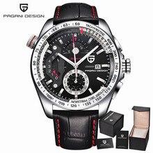 Pagani Design Stainless Steel Full Sport Men's Watches reloj hombre luxury brand fashion Quartz Watch Clocks Relogio Masculino