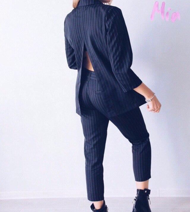 Longues Cercle Dos Foncé Bande Split Costumes Manches Ceinture Femelle Pantalon Printemps De Attatch En Métal Strip Suit Lady Coréenne Nouveau qx5FzZw6