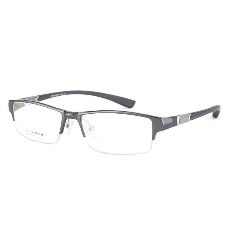 e4cda27a029 ... Oversized Glasses Men TR90 Sports Man Prescription Spectacles Myopia  Diopter Half Rimless Progressive Photochromic on Aliexpress.com