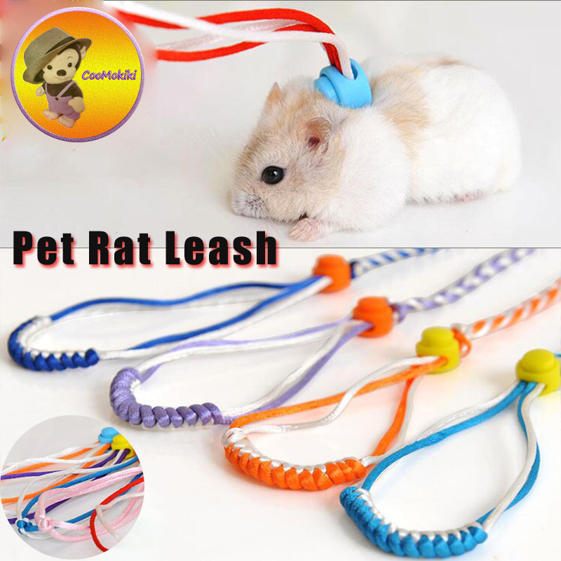 New hot adjustable harness leash for Hamster baby ...