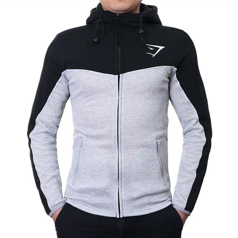 2016 nueva Gymshark con capucha marca hombres sudaderas