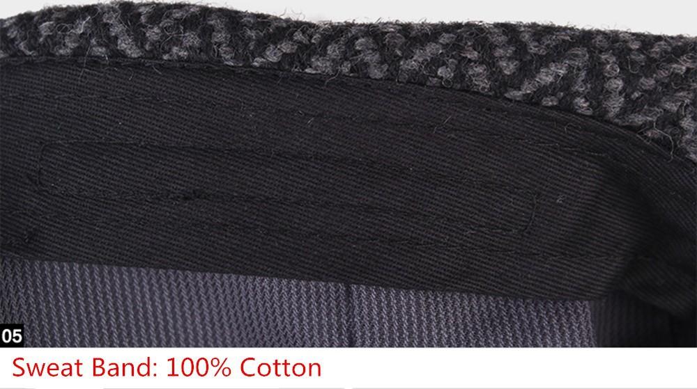 New Kenmont Autumn Spring Men Beret Peaked Adjustable Caps Visors ... 7c9fc25b18c5