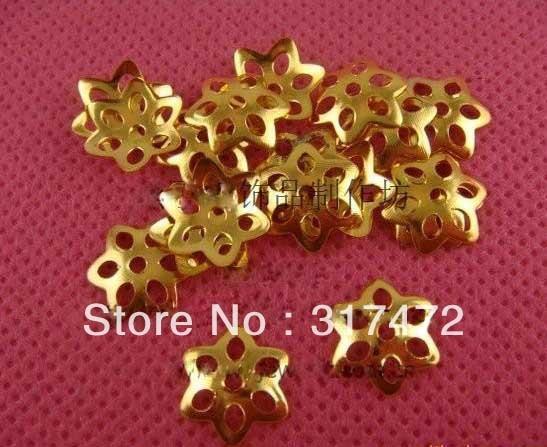 10mmFairy Flower Bead Caps Filigree Metal Caps DIY Jewelry Findings/Components