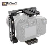CAMVATE двойное использование Регулируемая клетка для 80D, GH5 (Basic) C1722 камеры аксессуары для фотографии