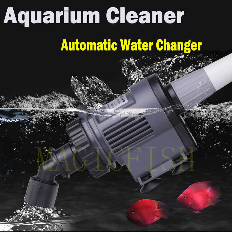 SUNSUN Automatic Aquarium Water Changer pump,Gravel Cleaner Cleaning tools Sand Washer Filter, automatic aquarium cleaner,