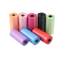 20 Rolls 300pcs/400pcs Dog Poop Bags Trash Garbage For Cat Pets Waste Bag Collection Outdoor litter Cleaning Supplies