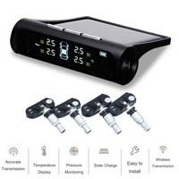 KROAK TPMS Car Tire Pressure Alarm Monitoring System 4 Internal Sensor Auto Diagnostic Tool