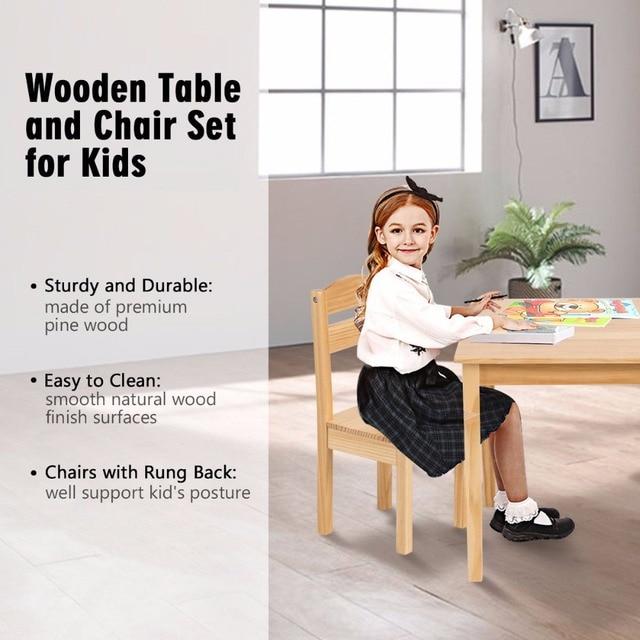 5 Piece Children's Table/Chair Set  6