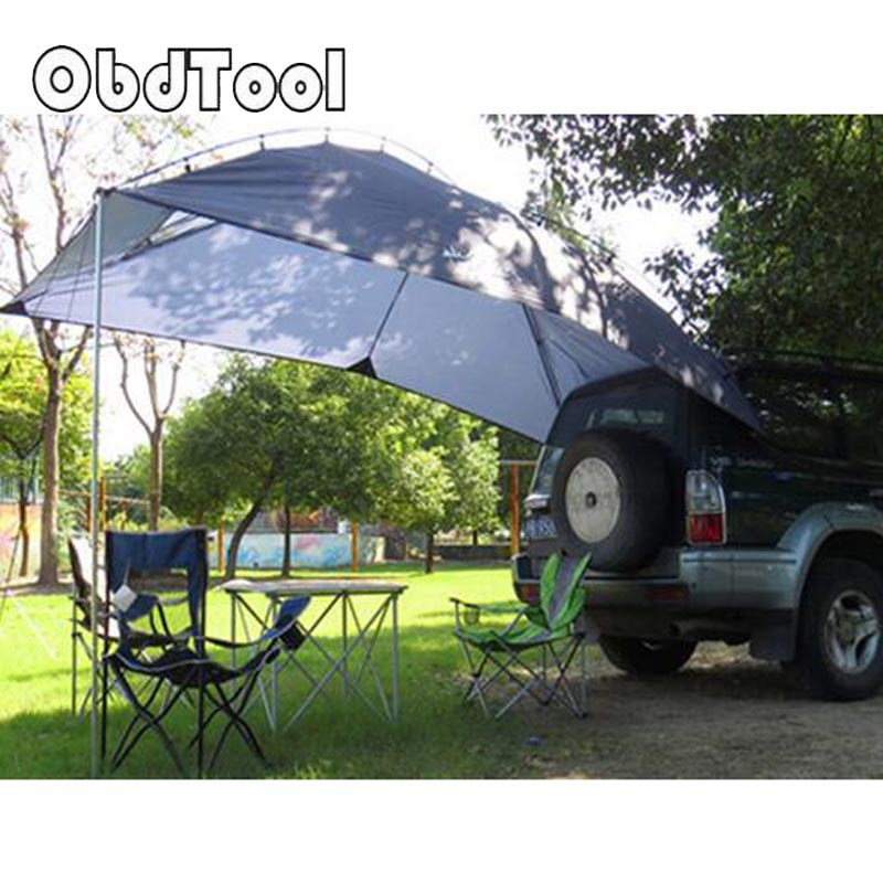 2018 NEW 5-8 Person Waterproof Outdoor Shelter Tent Car Gear Large Shade Tents Truck Bed Camping Tents Gazebo Camping Equipment