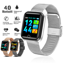 2019 New Smart Watch Men Women Heart Rate Blood Pressure Monitor Smart Bracelet Sport fitness tracker Smart Band For Android IOS все цены