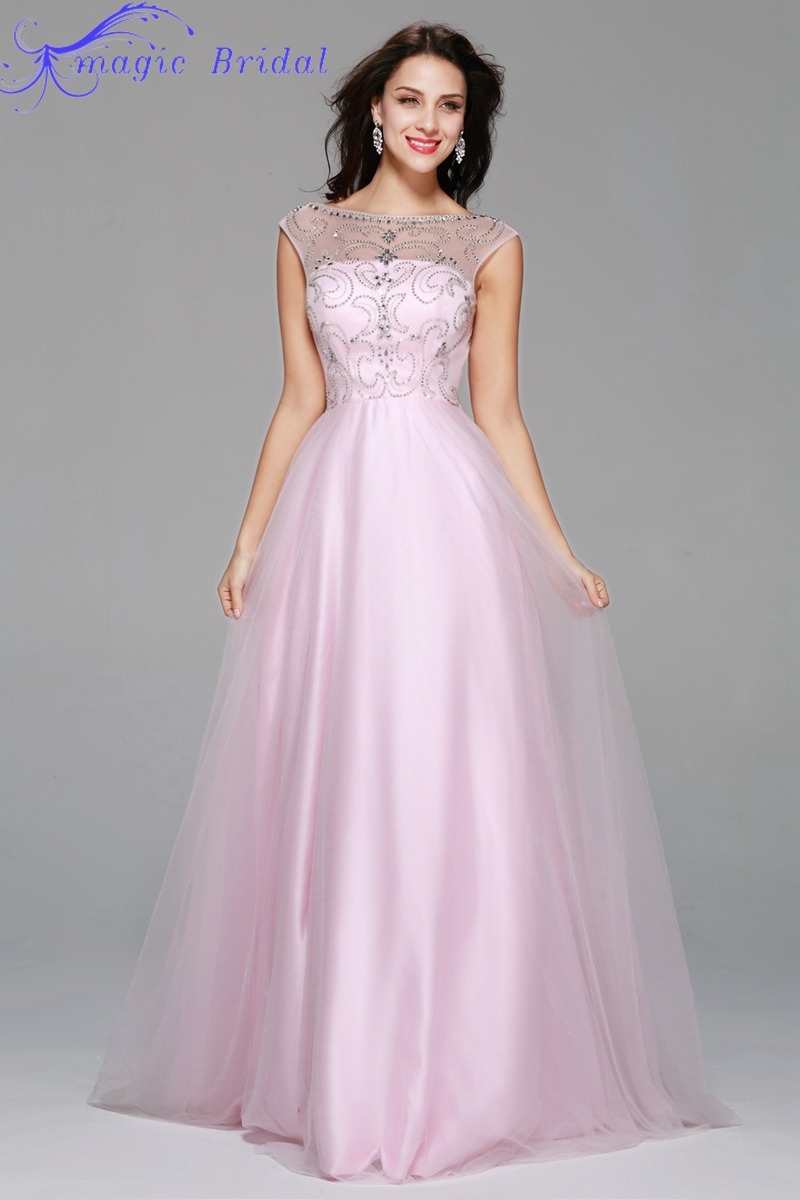 High Quality Light Pink Long Dresses-Buy Cheap Light Pink Long ...