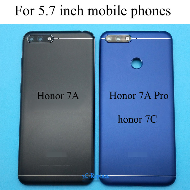 5.7 inch for Huawei Honor 7A pro Aum-l29 / Honor 7C Aum-L41 / Honor 7A Back Battery Cover Door Housing case Rear Glass parts