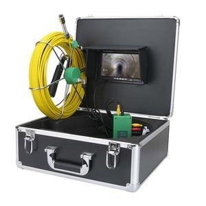 Image 2 - Mountainone 7 インチ 17 ミリメートルパイプ下水道検査ビデオカメラ排水管下水道検査カメラシステム 1000 tvl 20 メートル 30 メートル 40 メートル 50 メートル