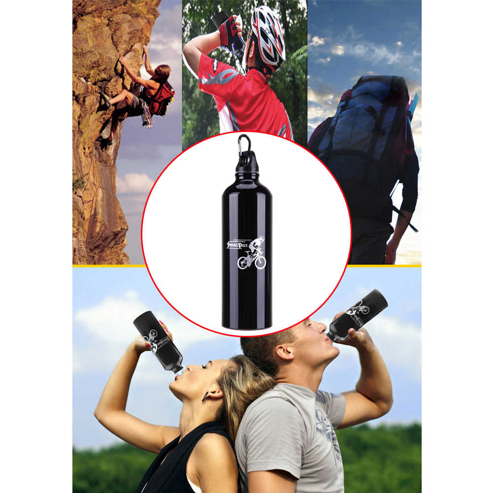 Outdoor Sport Cycling Camping Hiking Insulation Aluminium Alloy Water Bottle Cup