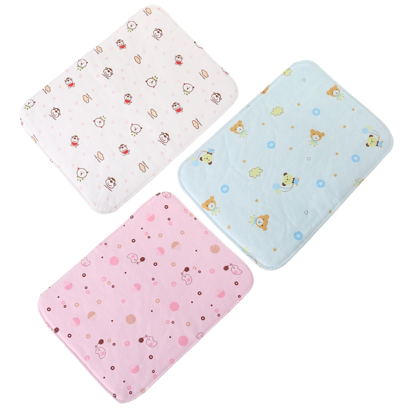 Baby Reusable Waterproof Stroller Diaper Folding Changing Pad Soft Mat Washable