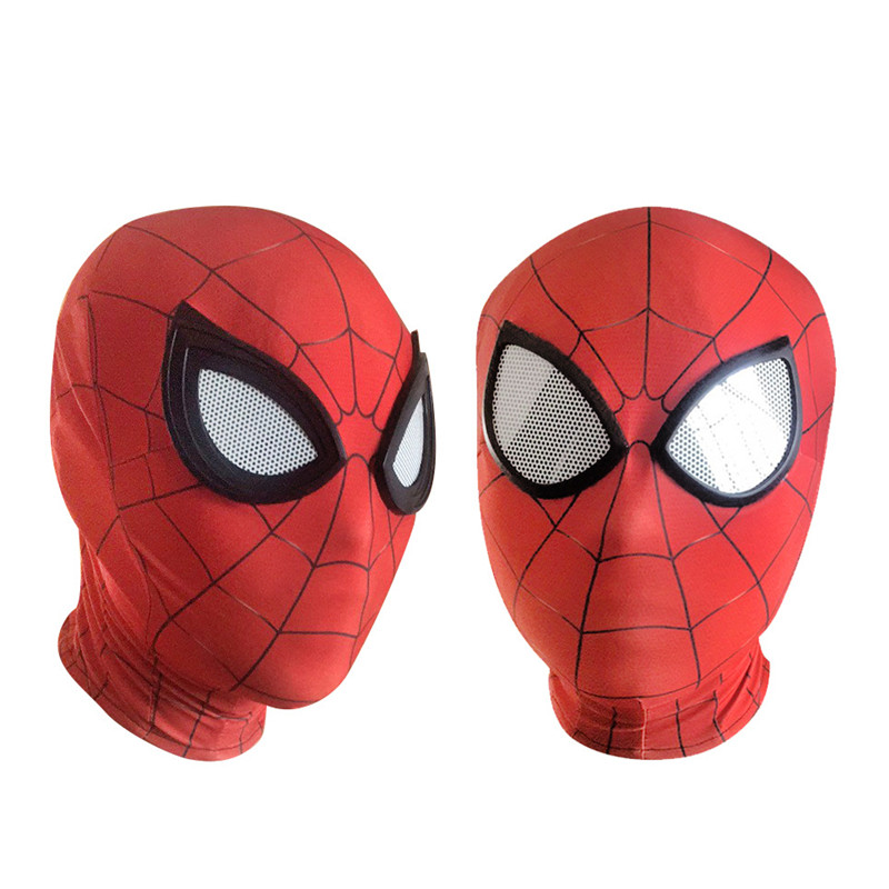 3D Spiderman Homecoming Masks Avengers Infinity War Iron Spider Man Cosplay Lycra Mask