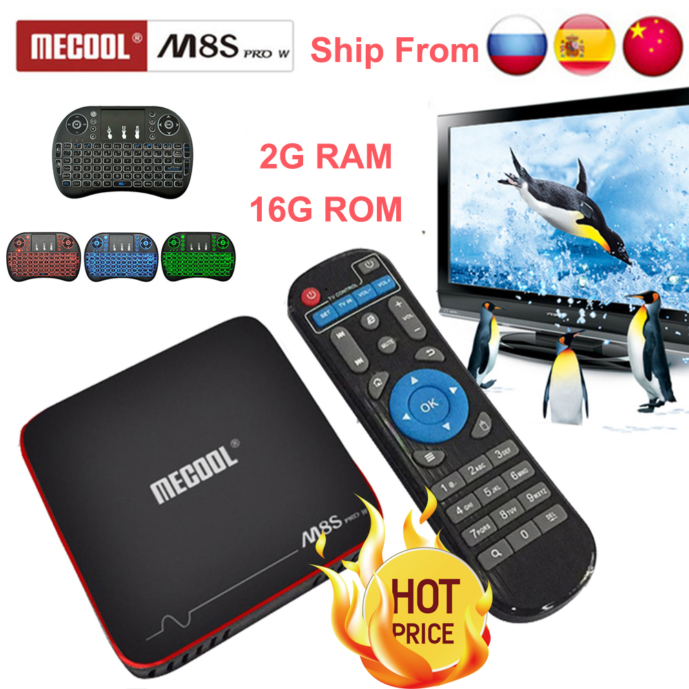 Mecool m8s pro w 2G 16G Smart tvbox android 7.1 S905W CPU 2.4 GHz WiFi 4 K H.265 top box tv supporto 2500 + Spagna/Europa IPTV pk KM9Mecool m8s pro w 2G 16G Smart tvbox android 7.1 S905W CPU 2.4 GHz WiFi 4 K H.265 top box tv supporto 2500 + Spagna/Europa IPTV pk KM9