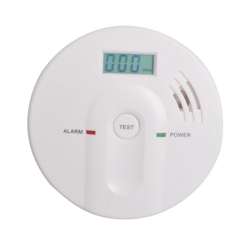 High Sensitive Digital LCD Backlight Carbon Monoxide Detector 85dB Co Alarm Detector Tester CO Gas Sensor AlarmHigh Sensitive Digital LCD Backlight Carbon Monoxide Detector 85dB Co Alarm Detector Tester CO Gas Sensor Alarm