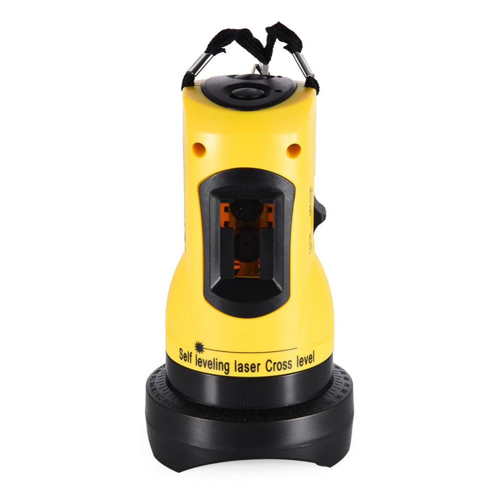 ZH-SL202 Household 2 Lines Cross Laser Level 360 Rotary Cross Laser Line Leveling Can Be Used with Outdoor Receiver outdoor receiver for level laser electronic leveling laser level 8 lines with precision detect rotary laser signal 50m g25