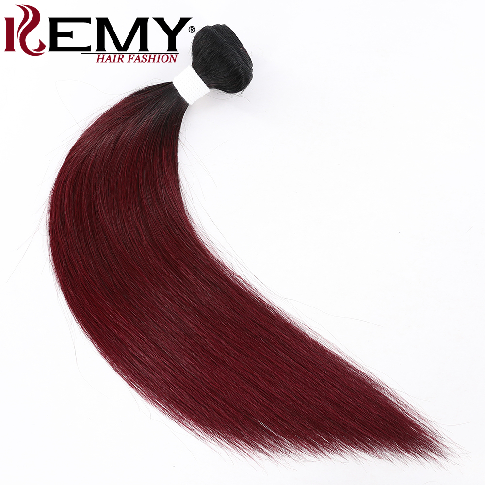 Mysterious Kemy Hair 100 Human Hair Pre Colored Weaves 1pcspack