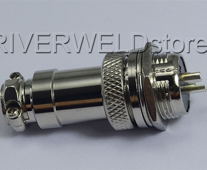 2pin Socket Connector Fit Plasma Cutter TIG Welding Torch