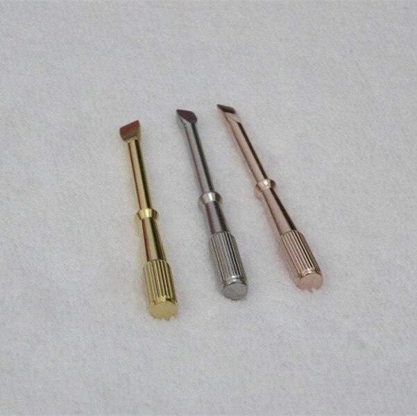 Fashion Women Men silver yellow rose gold 3 colors 316L Titanium steel Screwdriver for screw bracelets bangles accessory