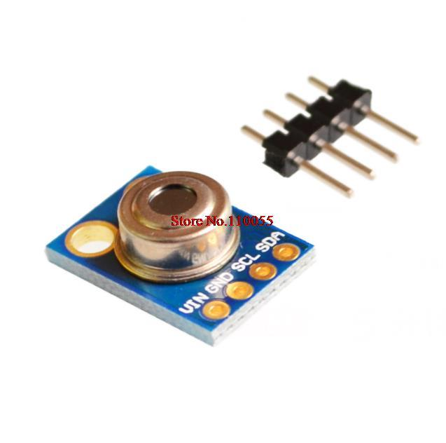 GY-906 MLX90614ESF New MLX90614 Contactless Temperature Sensor Module For  Compatible