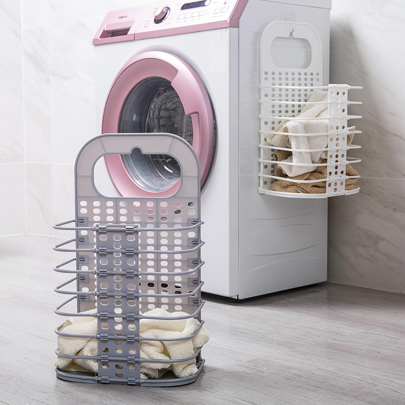 Kids Large Laundry Clothes Hamper Basket Plush Toys Holder Storage Bag Organizer