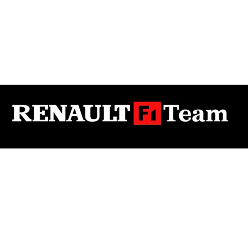 "Renault Megane F1: TOARTI New Waterproof Car Sticker ""RENAULT F1 Team"" F1 Red"