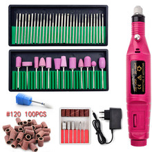Professional Manicure Machine Set Electric Nail Drill Bits Manicure Pedicure Nail Drill Machine Gel Polish Remover Ceramic Tools недорого