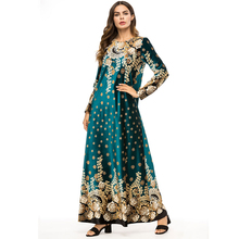 Abayas For Women Vestido 2018 UAE Qatar Velvet Muslim Hijab long Dress Women Jilbab Kaftan Abaya Musulmane Dubai Maxi Robe