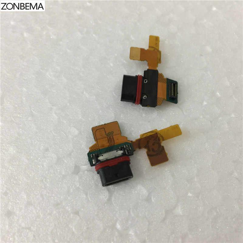 ZONBEMA для Sony Xperia Z5 Mini Compact E5803 E5823 зарядное устройство порт зарядки Micro USB порт док-станция разъем гибкий кабель