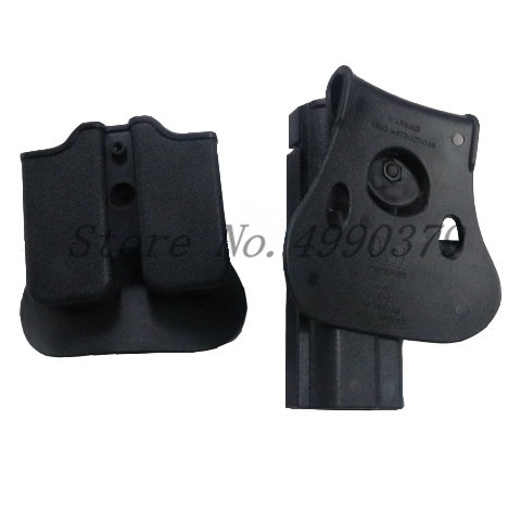 Image 2 - 1911 Holster Tactical Army CQC IMI Colt 1911 Holster Airsoft Military Paddle Pistol Gun Holster Hunting Gun Case Accessories-in Holsters from Sports & Entertainment