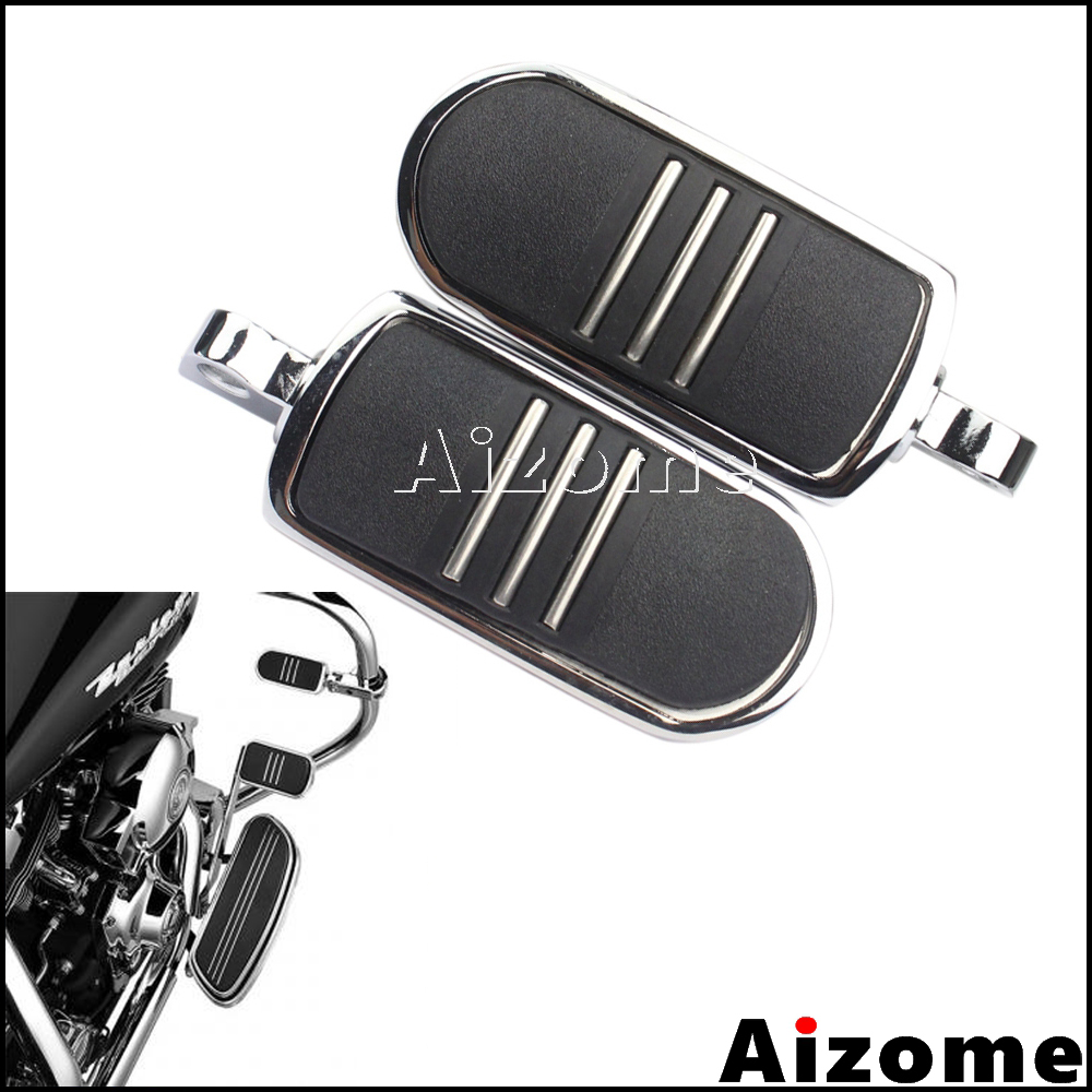 Motorcycle Streamliner Foot Pegs Footrest Highway Male Mount Foot Rests For Harley Dyna Heritage Softail Iron Sportster