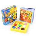 Kids IQ Logic Puzzle Nine Color Game Puzzles Toy for Children 1 booklet 60 Challenges early educational toys table games