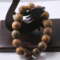Tibetan Jewelry Fragrance Natural Sandalwood Prayer beads Buddha Bracelet Men Women Lucky Gift Religion Charm
