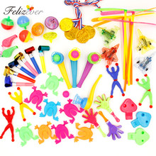 50PCS Kids Birthday Party Favors Pinata Filler Gift Toys Goodie Bag Toys Carnival Prizes Party Toys for Boys and Girls(China)
