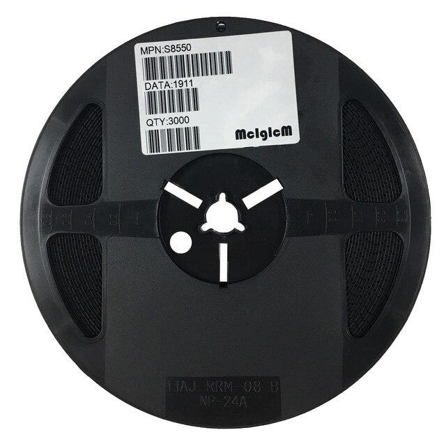 MCIGICM s8550, niskonapięciowy wysoki prąd mały sygnał PNP tranzystor SOT 23 S8550 SMD