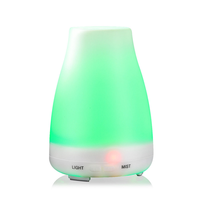 Promotion 100ml Ultrasonic Air Humidifier Aroma Essential Oil Diffuser Humidificador Aromaterapia With Led Night Lamp Preventing Hairs From Graying And Helpful To Retain Complexion Home Appliances Humidifiers