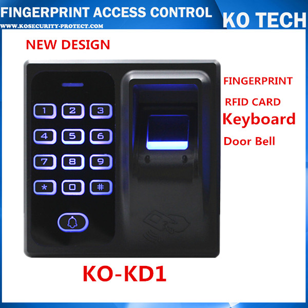 Biometric Fingerprint reader door lock pin code Access Control EM card reader Free shipping! Door Access control terminal