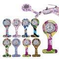 Модные силиконовые часы для медсестер Брошь Туника Брелок карманные часы из нержавеющей стали многоцветный стиль LL @ 17