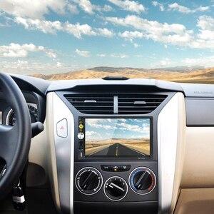 Image 4 - Автомагнитола Hikity, 2 din, RDS, GPS, навигация, FM, Bluetooth, мультимедиа, видео плеер с микрофоном, дистанционное управление, стерео
