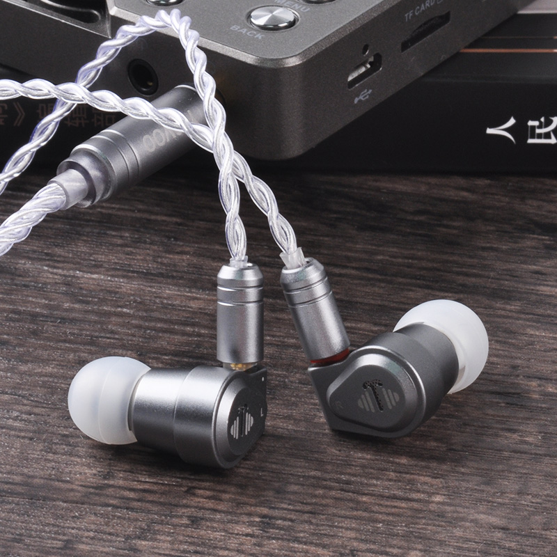 Yinyoo V2 Version 3(Final Tuning) High End USA Import Dual Diaphragm 1DD Dynamic Driver In Ear Earphone HIFI Earphone Earbud