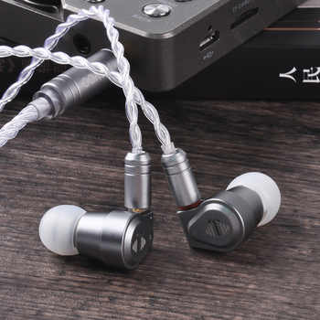 Yinyoo V2 Version 3(Final Tuning) High End USA Import Dual Diaphragm 1DD Dynamic Driver In Ear Earphone HIFI  Earphone  Earbud - DISCOUNT ITEM  52% OFF All Category